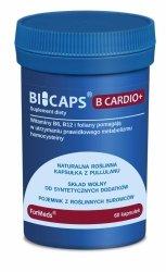 BICAPS B CARDIO+ (Witaminy B6, B12 i Folian), Formeds