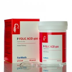 ForMeds F-FOLIC ACID 400 Kwas Foliowy Suplement Diety