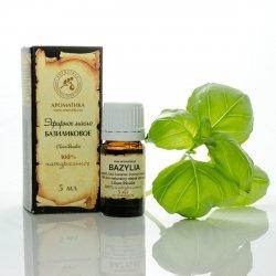 Olejek Bazyliowy (Bazylia), 100% Naturalny