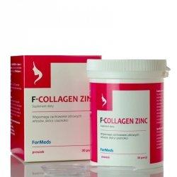 ForMeds F-COLLAGEN ZINC Kolagen i Cynk, Suplement Diety w Proszku