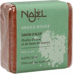 Mydło Aleppo z Czerwoną Glinką Najel, 100g
