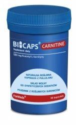 BICAPS CARNITINE Formeds, L-Karnityna, 60 kapsułek
