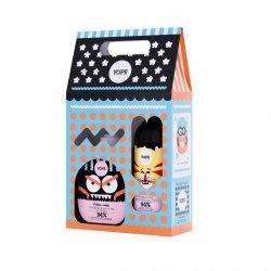 Mydło Kokos + Żel Żurawina Zestaw Prezentowy dla Dzieci, Yope