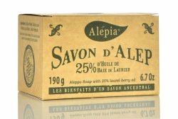 Mydło Alep 25% Oleju Laurowego, 190g