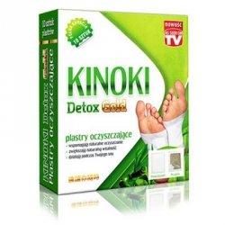 Plastry Oczyszczające KINOKI Detox Gold, 10 sztuk