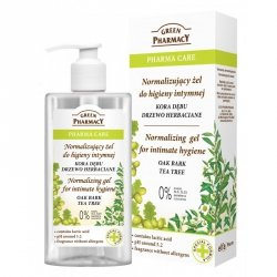 Нормализующий Гель для Интимной Гигиены Кора Дуба и Чайное Дерево, Зеленая аптека