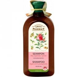 Шампунь для сухих волос с аргановым маслом и гранатом, Зеленая Аптека