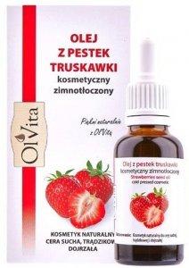 Olej z Pestek Truskawek, 100% Naturalny, Olvita, 30ml