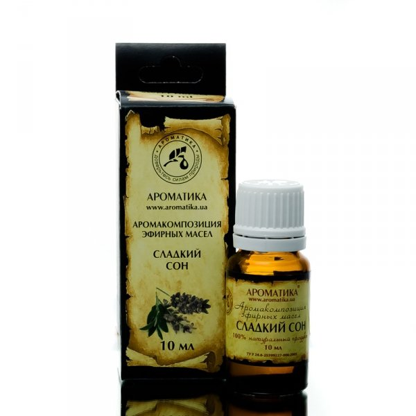 Sweet Dreams Essential Oil Blend, 100% Natural