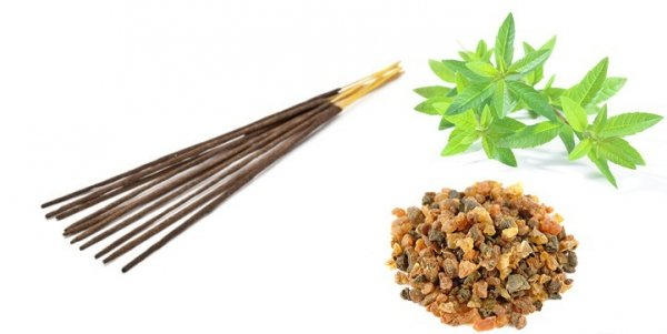 Incense Sticks Myrrh & Verbena, Aromatika