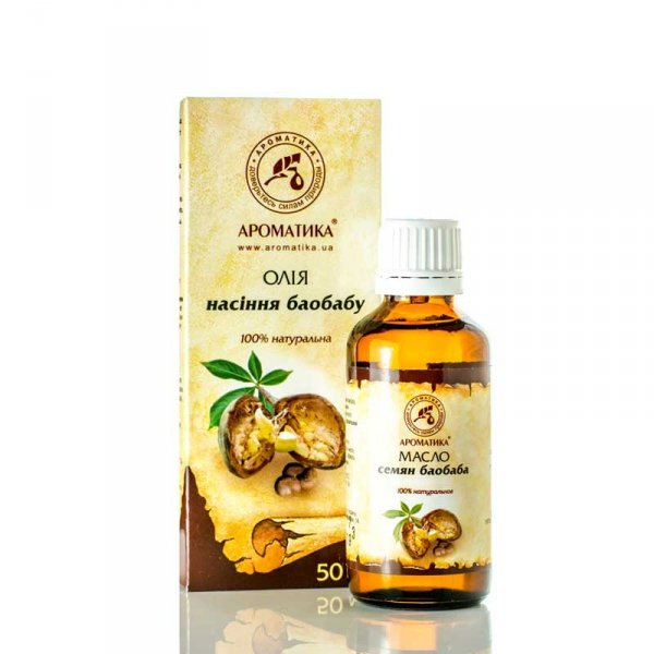 Baobab Natural Oil, Aromatika