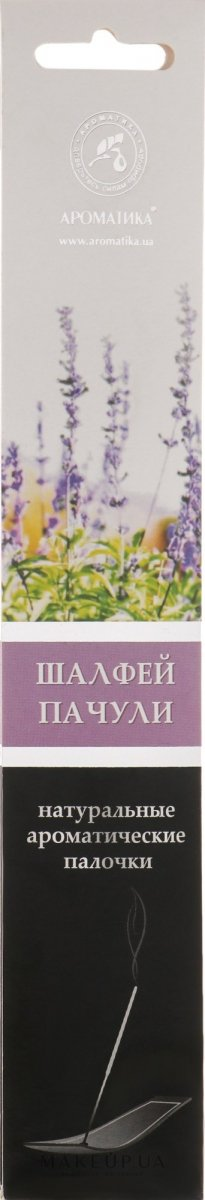 Incense Stick Sage & Patchouli, 8 pcs in pack
