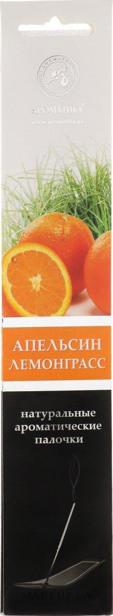 Incense Stick Orange & Lemongrass, Aromatika