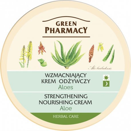 Wzmacniający Krem Odżywczy Aloes, Green Pharmacy