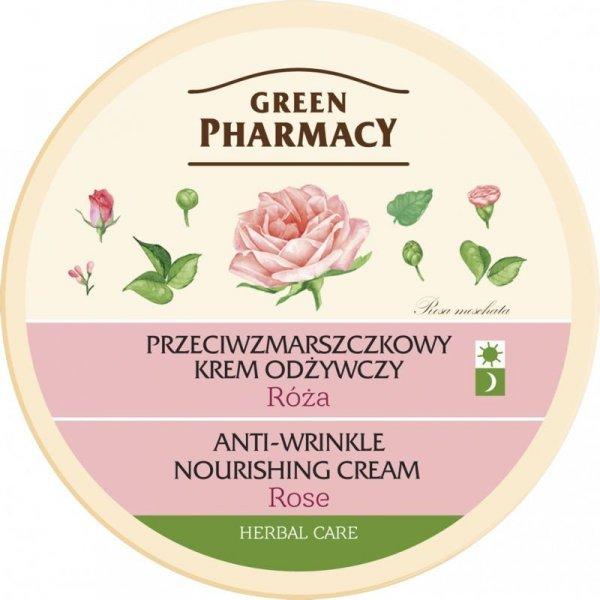Przeciwzmarszczkowy Krem Odżywczy Róża, Green Pharmacy