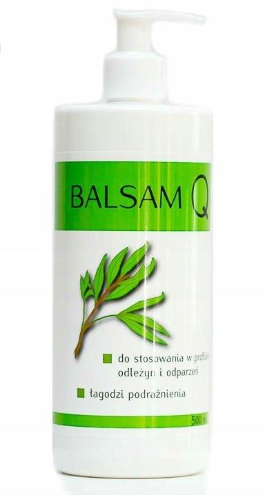 Balsam Q Zapobiegający Powstawaniu Odleżyn i Odparzeń oraz Łagodzący Podrażnienia, India Cosmetics