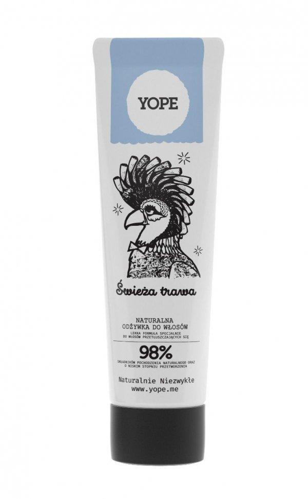 Zestaw Prezentowy Yope Szampon i Odżywka Świeża Trawa