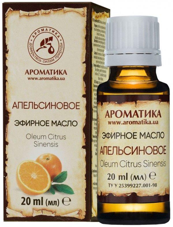 Olejek Pomarańczowy, Pomarańcza Słodka, 100% Naturalny, Aromatika