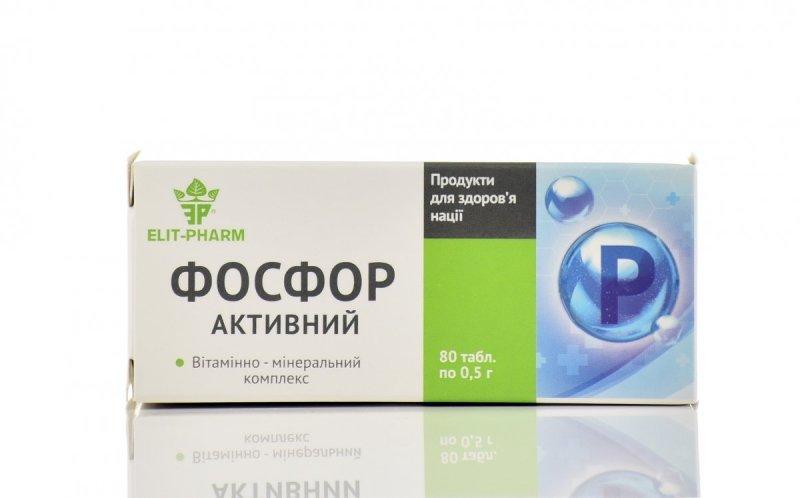 Phosphorus Vitamin-Mineral Complex, 80 Tablets