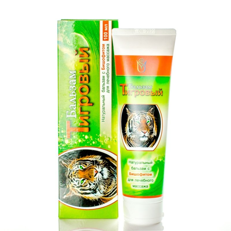 Bischofite Tiger Ointment, 100 ml