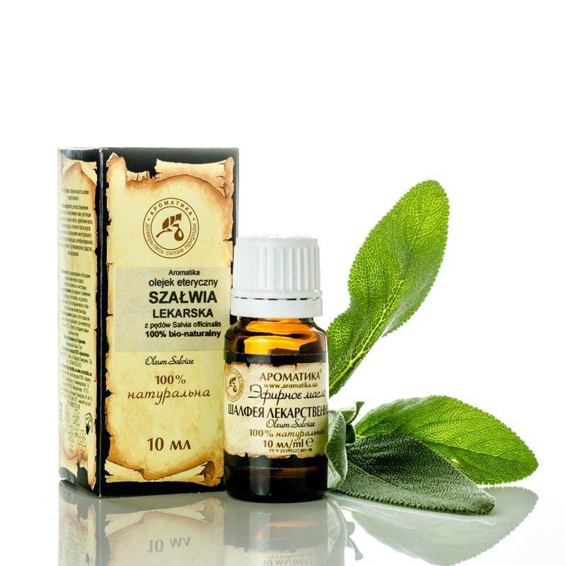 Sage Essential Oil 100% Pure Natural, Aromatika