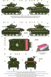 Mirage 726068 1/72 'Wyzwolenie Paryża' Czołg Lekki M3A3, 2 Dywizja Pancerna gen. Leclerca, GTL, 12 Regiment Szaserów Afrykańskich, część 1