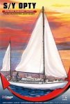 Mirage 508002 1/50 S/Y OPTY [Polish sailing yacht]