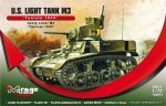 Mirage 726073 1/72 U.S. Light Tank M3 'TUNISIA 1943'