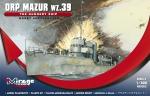 Mirage 400202 1/400 ORP MAZUR wz. 39 Okręt artyleryjski