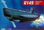 Mirage 400206 1/400 U149 typ II D niemiecki okręt podwodny