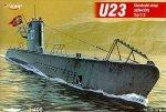 Mirage 400204 1/400 U23 typ II B niemiecki okręt podwodny