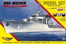 Mirage 840095 1/400 [MODEL SET] ORP 'WICHER' – wz.35 [Polski Niszczyciel II WŚ]