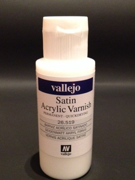 Vallejo 26519 | 60 ml | SATIN Acrylic Varnish