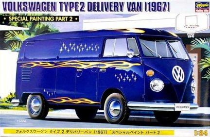 Hasegawa 20213 1/24 Volkswagen TYPE 2 Delivery Van (1967)