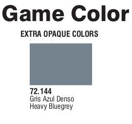 Game Color (72144) Extra Opaque | Heavy Blue Grey 17 ml.