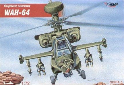 Mirage 72053 1/72 WAH-64 śmigłowiec szturmowy