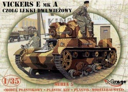 Mirage 35303 1/35 VICKERS E Mk.A Czołg 'DWUWIEŻOWY'