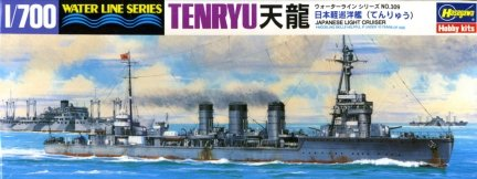 Hasegawa WLS309 1/700 IJN Tenryu Battle Cruiser