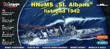 Mirage 40609 1/400 HMS 'St Albans' Allied destroyer