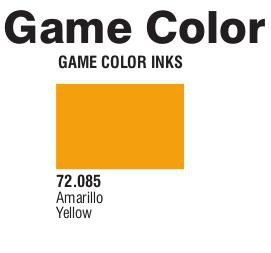 Game Color (72085) Game Ink | Inky Yellow 17 ml.