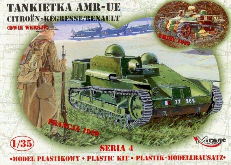 Mirage 35306 1/35 AMR -UE Tankietka CITROEN-KEGRESSE/RENAULT