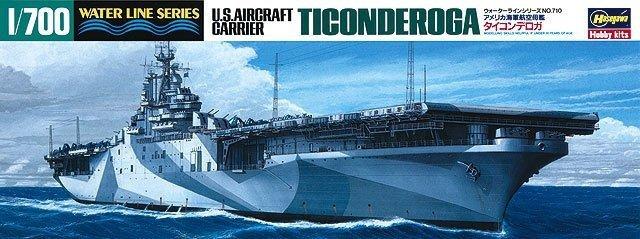 Hasegawa WLS710 1/700 US Navy Aircraft Carrier Ticonderoga