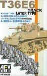 AFV Club AF35020 1/35 M5/M8 Light Tank T-36E Track