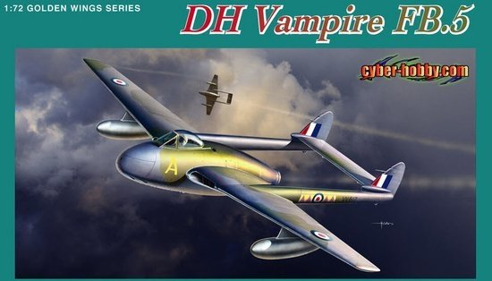Dragon CH 05085 1/72 Fighter-Bomber DH Vampire FB.5