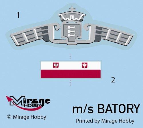 Mirage 500801 1/500 M/S BATORY Operacja Husky