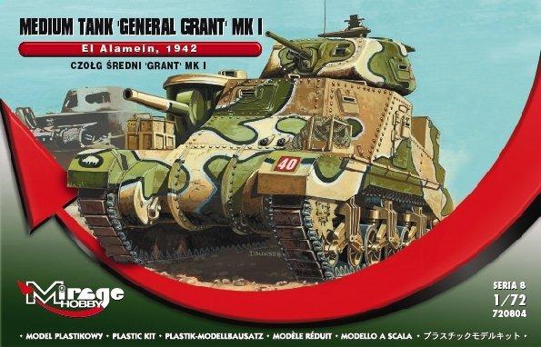 Mirage 728004 1/72 Grant Mk I, El Alamein Czołg średni