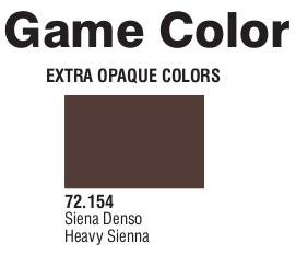 Game Color (72154) Extra Opaque | Heavy Sienna 17 ml.