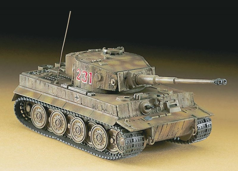Hasegawa MT36 1/72 Pz.Kpfw VI Tiger I ausf.E 'Late Model' (German Army)