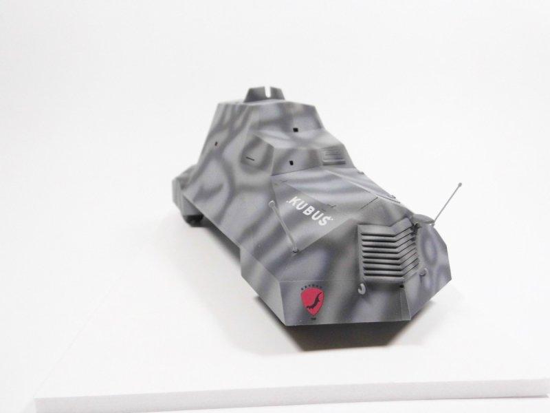 Mirage 835091 1/35 [MODEL SET] KUBUŚ Samochód pancerny - Powstanie Warszawskie Sierpień 1944