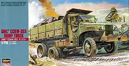 Hasegawa MT22 1/72 G.M.C. CCKW-353 DUMP Truck (U.S. Army)
